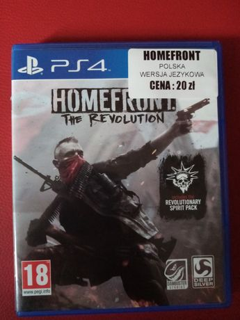 Homefront 2 The Revolution PS4 PL