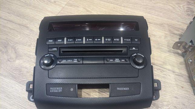 Магнитола Mitsubishi Митсубиси радио cd dvd mp3 aux usb handsfree