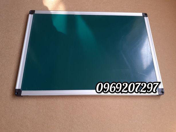 Доска комбинированная двухсторонняя магнитная, мел/маркер, 35*50 см