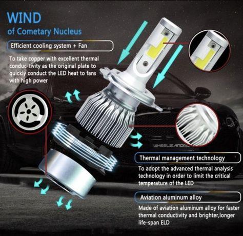LED H4 ближний/дальний цена за ПАРУ