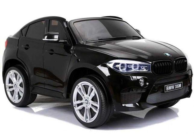 Auto na Akumulator XXL BMW X6M Białe 2 osobowe
