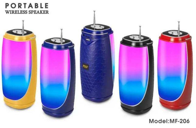 Блютуз колонка с светомузыкой  bluetooth, USB, акустика,колонки,mp3