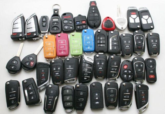 Авто ключ корпус чіп  шкода VW Skoda AUDI Honda Кіа Fiat Reno  Opel