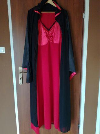 Kostium wiedzmy czarownicy na bal przebierańców 52-56