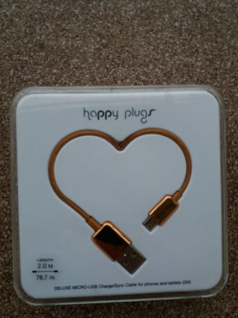 Kabel do telefonu USB HAPPY PLUGS 2M