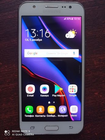 Samsung galaxy j5 android