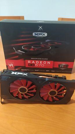 Radeon RX 570 8gb XFX RS XXX Edition com fatura e garantia até 01/2023