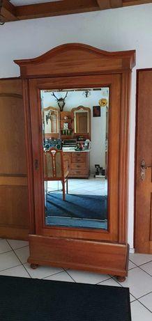 Stara szafa bieliźniarka antyk zabytkowa kryształowe z lustrem