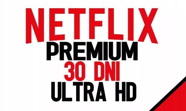 NETFLIX KONTO PREMIUM NA 30 DNI + gratis HBO! Pomoc 24/7 i Gwarancja!