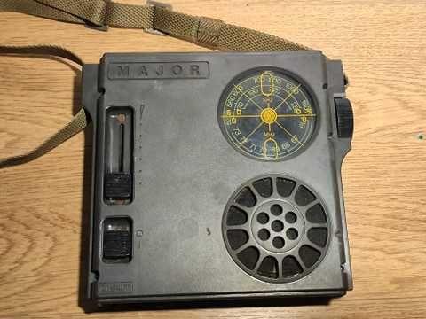 Stare, kolekcjonerskie Radio Major super stan