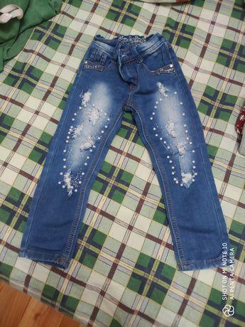 Джинсы для девочки, джинсы
