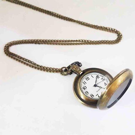 Potężny talizman amulet Anielski zegarek kieszonkowy 7 Aniołów