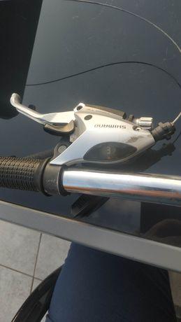 Kierownica z przerzutkami shimano