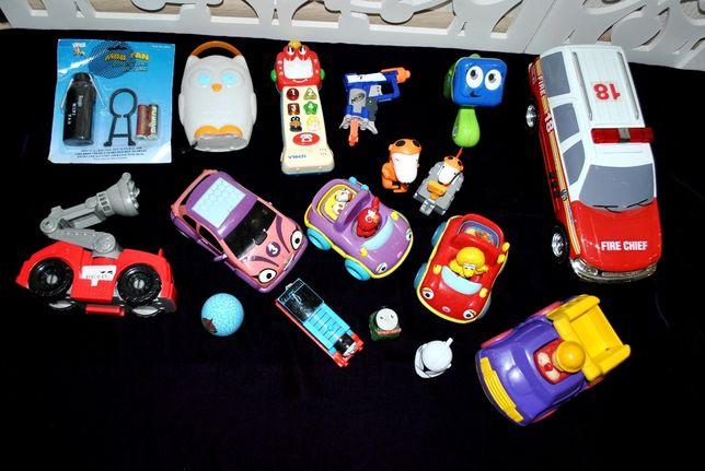 Набор лот игрушек для мальчиков машинки Nerf Chicco Fisher Price Vtech