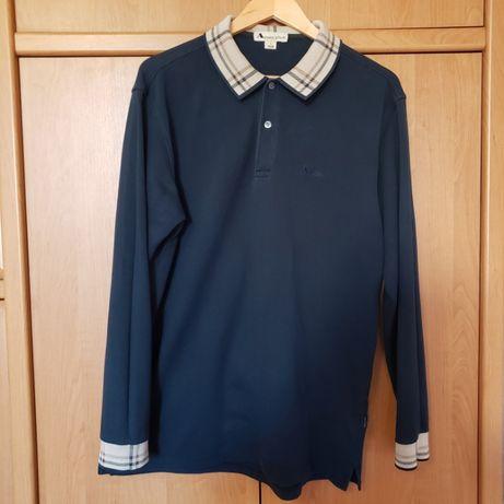 Aquascutum Long Sleeve Polo Shirt оригинал M - L (похоже на burberry)