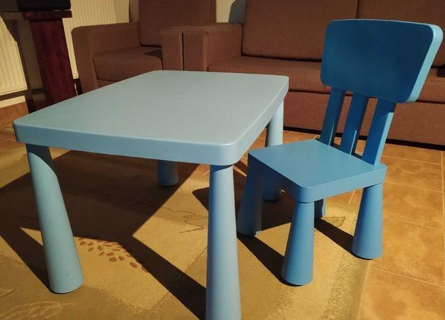 Stolik Ikea mamut z krzesełkiem