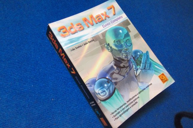 3D STUDIO MAX, livro em estado novo