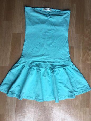 Nowa Miętowa sukienka rozmiar XS