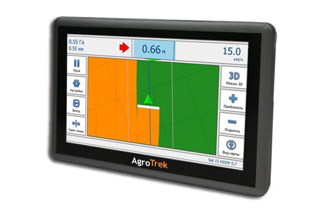 Навигатор для трактора GPS (курсоуказатель)