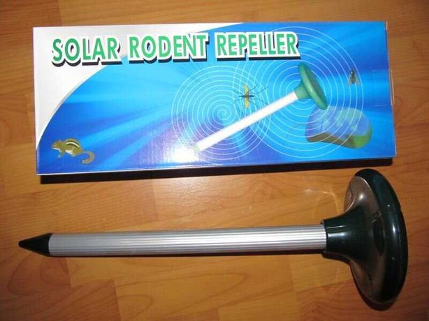 Продам отпугиватель кротов  800 кв.м на солнечной батарее