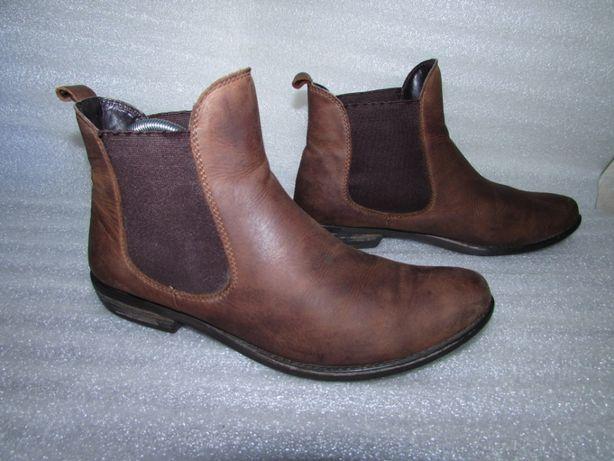 Office London ~Полностью кожаные фирменные ботинки р 38