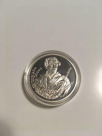 Moneta srebrna 10 zl 150 Rocznica Smierci Juliusza Slowackiego