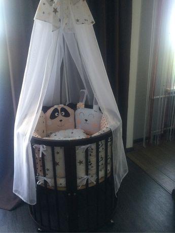 Кроватка круглая