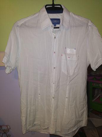 Фирменная белая рубашка для мальчика на 13 - 14 лет. Рост 158 -164см.