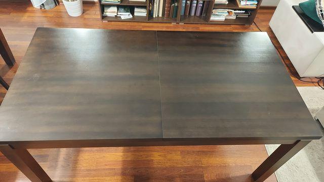 Stół 210/90 brązowy