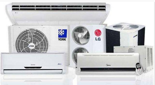 ar condicionado, balcões frigorificos, reparação