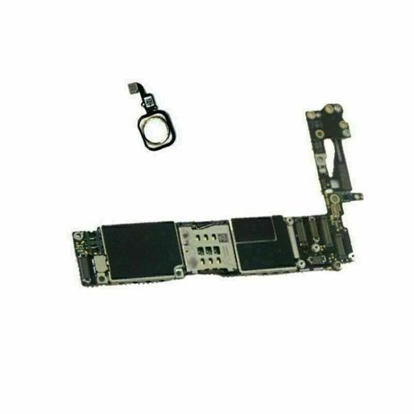 Apple iphone 6 board main board placa botao branco ou preto livre