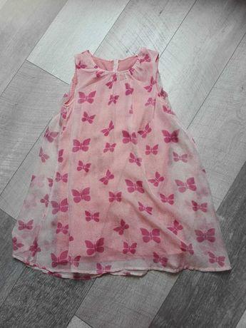 sukienka na lato dla dziewczynki 134-140 cm