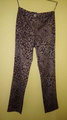 Mulheres, calças, padrão de tigre NOVO Tamanho 38