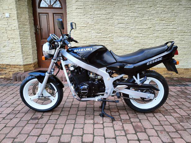 Suzuki GS500, Kat.A2 Super Stan ! /TRANSPORT