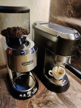 Кофеварка Delonghi EC 685 + кофемолка Delonghi KG 520