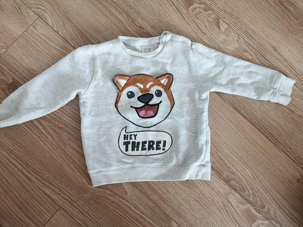 Bluza ocieplana Zara baby 98 chłopczyk
