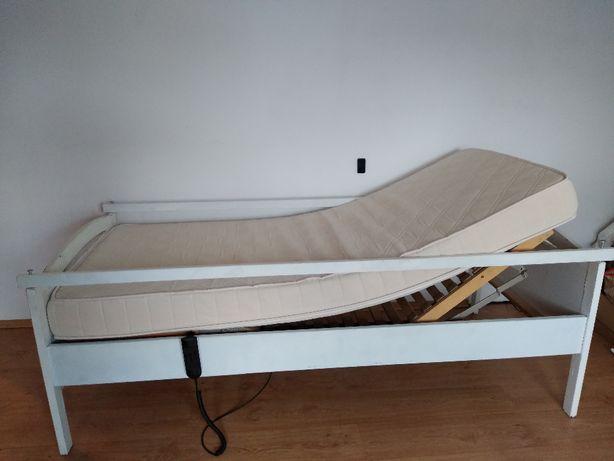Łóżko rehabilitacyjne, elektryczne na pilota