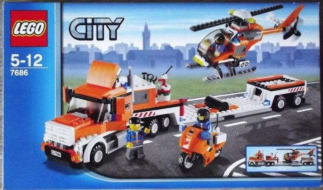 UNIKAT LEGO CITY 7686 - laweta