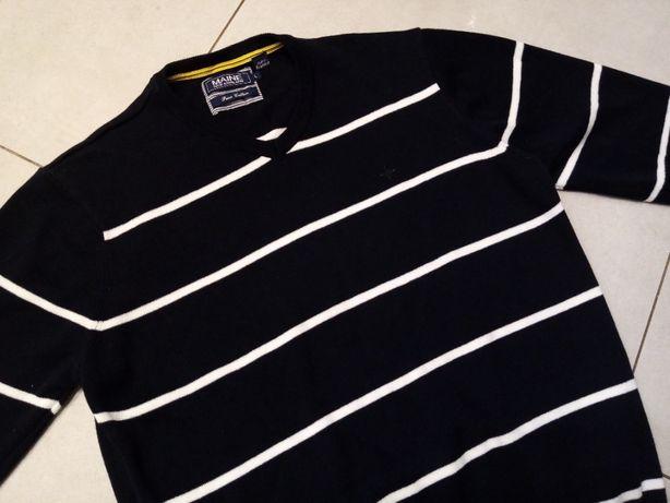 MAINE - NOWY!!! Logowany Sweter Męski rozmiar XL