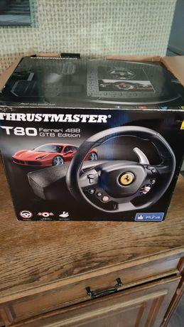 Kierownica Ps4, Ps3, pc, inne thrustmaster t80 Ferrari edition new