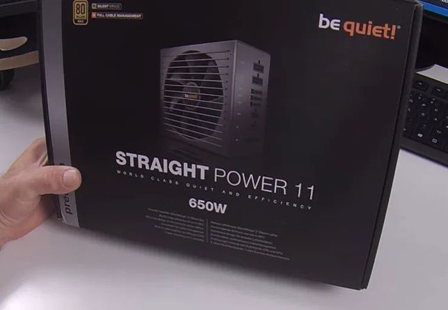 Блок питания be quiet! Straight Power 11 650W + Гарантия (5 лет)