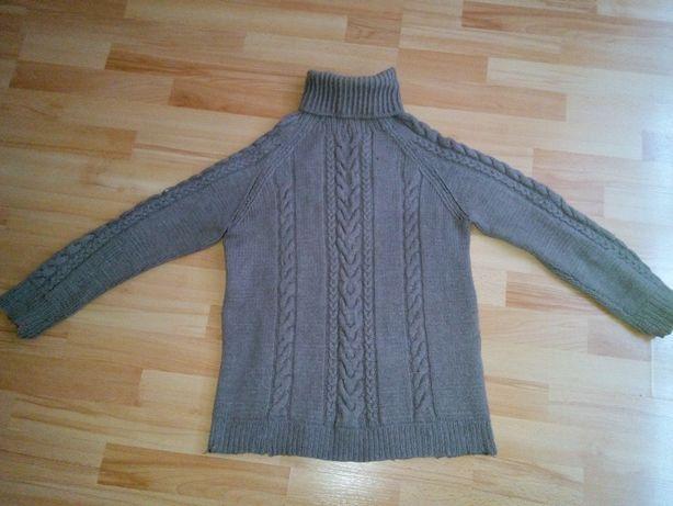48 размер ОЧЕНЬ ТОЛСТОЙ вязки зимний свитер / ТОНКОЙ вязки для работы