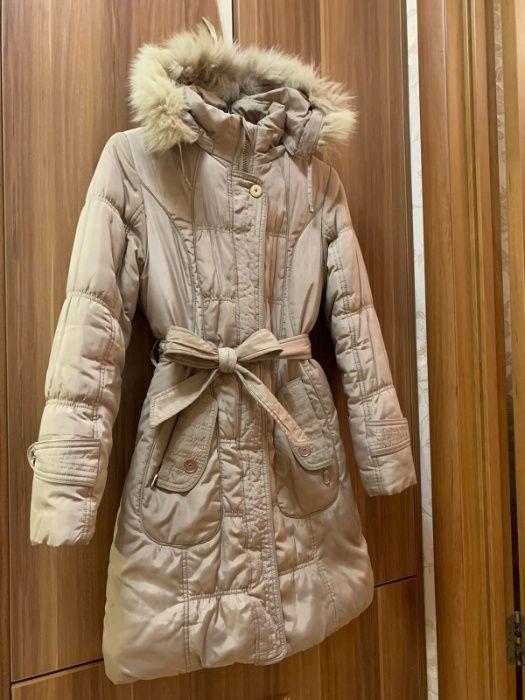 Пальто зимнее, куртка на девочку 10-12 лет Сумы - изображение 1