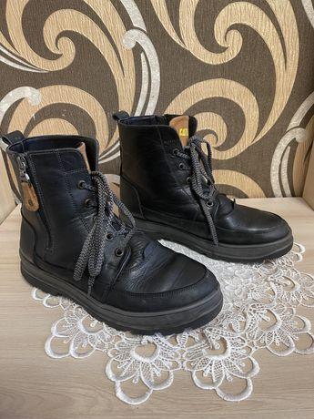 Шкіряні черевики 39 р