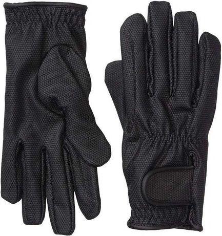 Rękawice Jeździeckie Riders Trend Czarne XS