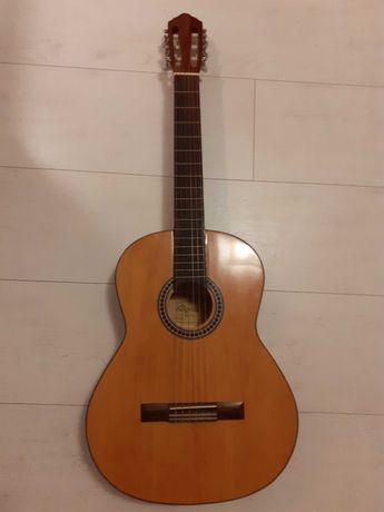 Gitara klasyczna + pokrowiec + stroik elektroniczny