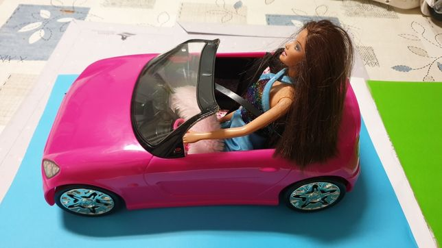 Carro Barbie + boneca Barbie