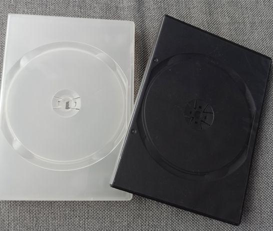 Pudełka na płytę dvd z folią