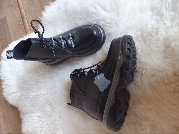 Ботинки натур.кожа, зима, новые!!