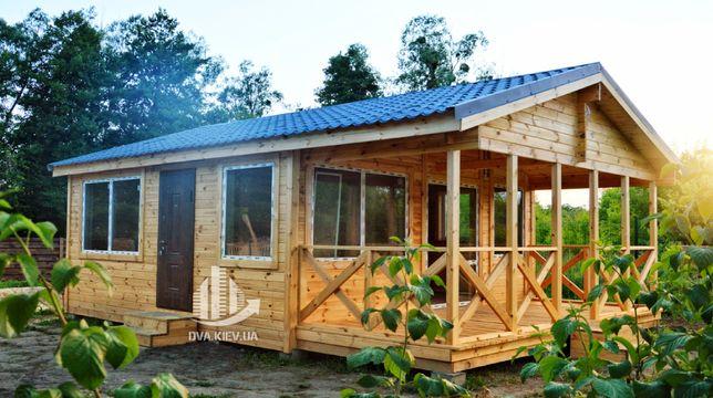Деревянный дом, дом из дерева, дачный дом, садовый дом, домокомплект